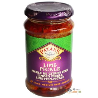 Pataks Lime Pickle Medium 6x283g