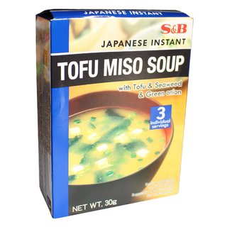 S&B Tofu Miso Suppe Instant 30g (3Portionen)