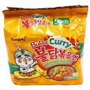 Samyang Hot Chicken Curry Ramen 700g (5x140g)