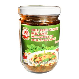 Cock Chilli Paste mit Holy Basil Krapao 200g